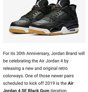 Air Jordan 4 SE Laser